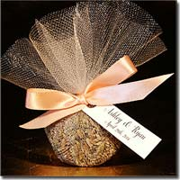 DIY Fragrant Lavender Sachet with Ribbon and Tulle